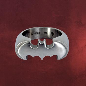 Batman Emblem Ring