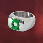 Green Lantern Logo Ring gr�n