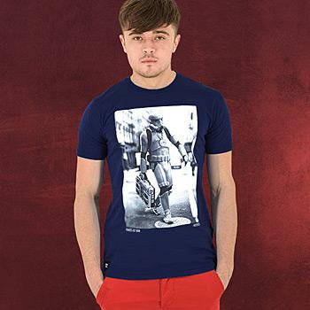 Star Wars - Boombox Trooper T-Shirt, blau