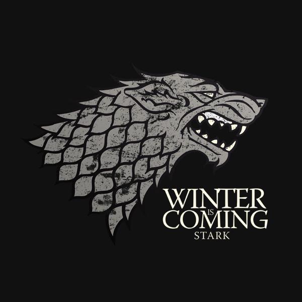 Game of Thrones / Lied von Eis und Feuer - Haus Stark Wappen T-Shirt ...: www.ebay.de/itm/Game-of-Thrones-Lied-von-Eis-und-Feuer-Haus-Stark...