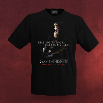 Game of Thrones Robert Baratheon T-Shirt