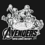 Avengers - Super Heroes United Marvel T-Shirt
