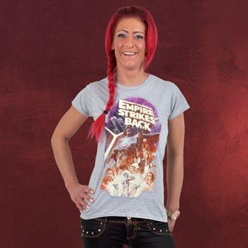 Star Wars - Empire Strikes Back Girlie Shirt