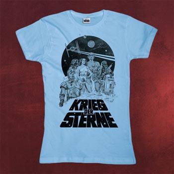 Star Wars - Krieg der Sterne Girlie Shirt