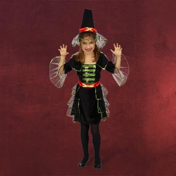 Kleine Hexe - Kinderkostüm