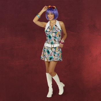 Retro-Kleid Eclipse mit G�rtel
