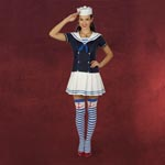Sailor Girl - Kost�m