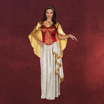 R�mische Prinzessin - Kleid mit Cape