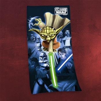 Star Wars - Yoda Badetuch