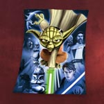 Star Wars The Clone Wars - Yoda Fleecedecke