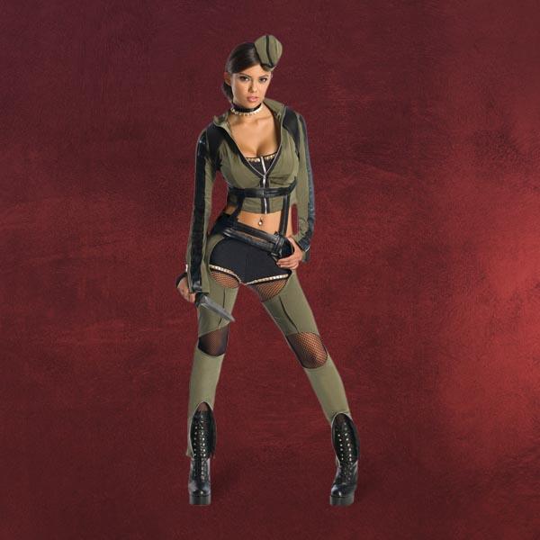 sucker punch amber costume da donna soldatessa sexy. Black Bedroom Furniture Sets. Home Design Ideas
