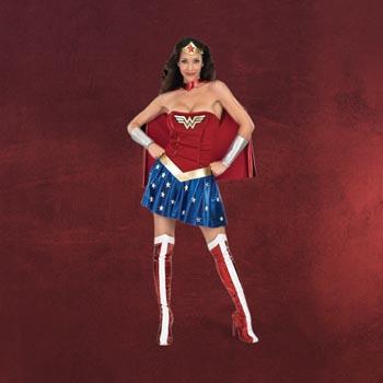 Wonder Woman - Damenkostüm
