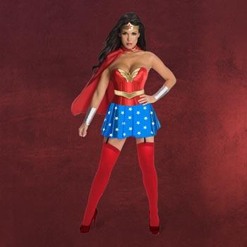 Wonder Woman - Korsett Damenkostüm