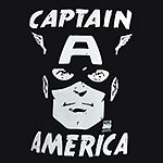 Captain America - Portrait T-Shirt