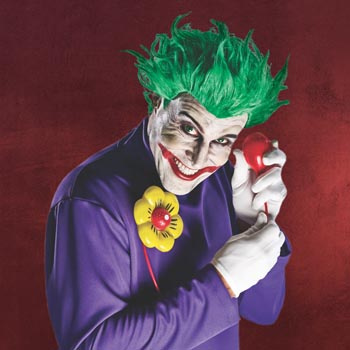 Batman - Arkham Asylum Joker Kostümset