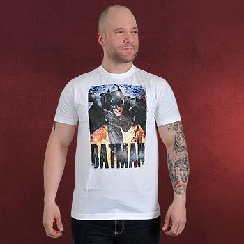 Batman - Running Flames T-Shirt