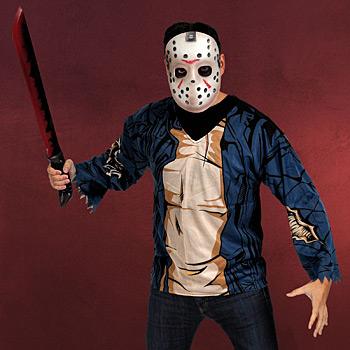 Freitag der 13. - Jason Kostümset für Erwachsene