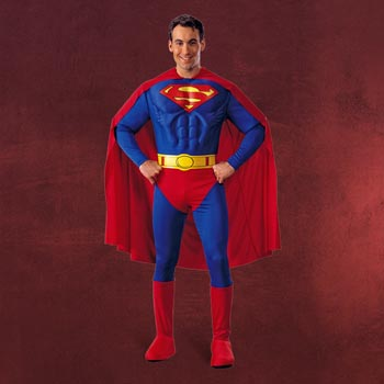 Superman Muskel-Kostüm