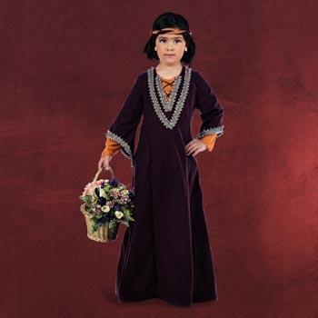 Lady Marian - Mittelalter Kinderkostüm