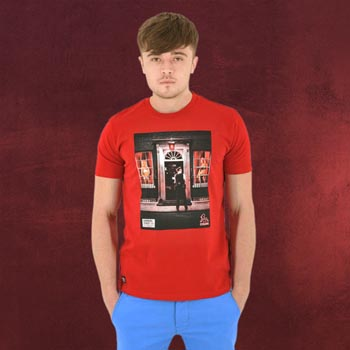 Downing Street No.10 im Rotlicht - T-Shirt