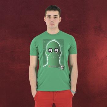 Homer Simpson Abgefüllt T-Shirt