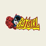 Batman - Batgirl Girlie Shirt wei�