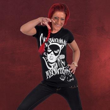 Catwoman - Girlie Shirt