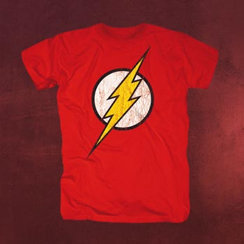 Justice League - Flash Logo T-Shirt