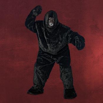 Schwarzer Yeti Kostüm