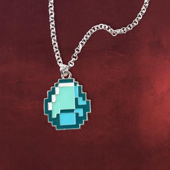 Minecraft Diamond Kette