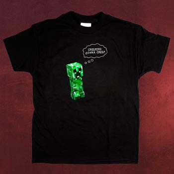 Minecraft Creepers Gonna Creep T-Shirt