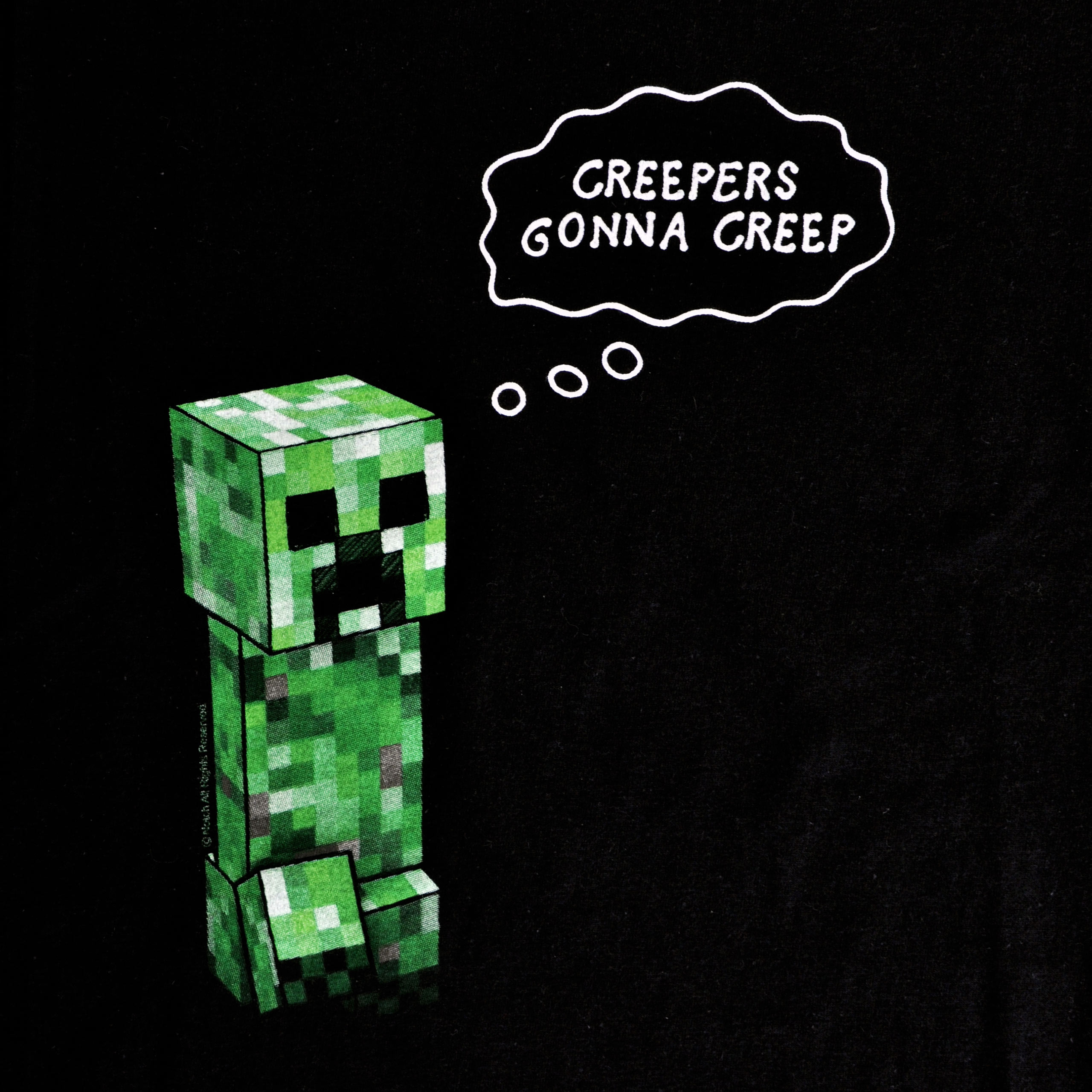 Minecraft creepers gonna creep t shirt by stylin online auto design