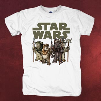Star Wars - Ewoks von Endor T-Shirt