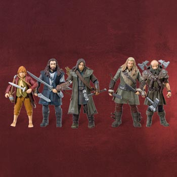 Der Hobbit - Zwergen Actionfigurenset