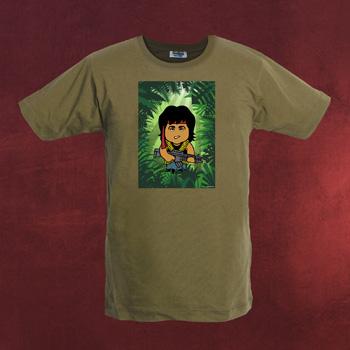 Green Beret - Toonstar Poster T-Shirt