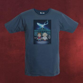 Team Future - Lightning Strikes Toonstar Poster T-Shirt