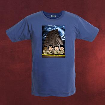 Geisterj�ger - Toonstar Cartoon T-Shirt