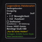 Level-100-Item: Legend�res Helden - Shirt
