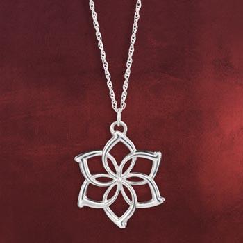 Der Hobbit - Galadriels Flower Kette