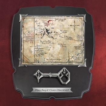 Der Hobbit - Thorins Karte mit Schl�ssel - Wandbild, gro�