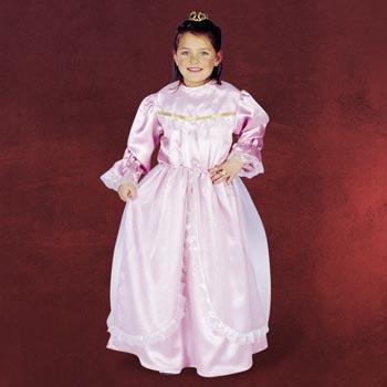 Prinzessin Laura mit Spitzenbesatz - Kinderkostüm