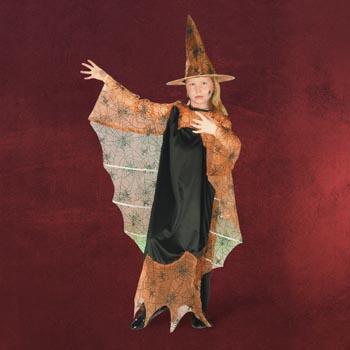 Halloween-Hexe - Kinderkostüm