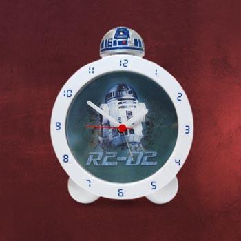 Star Wars - R2D2 Wecker mit Leuchteffekt und Sound