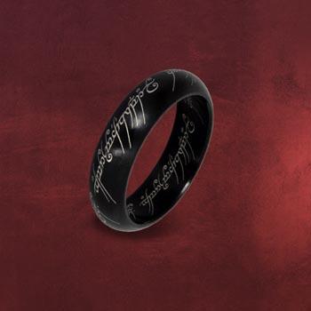 Herr der Ringe - Der Eine Ring im Schmuckdisplay, schwarz