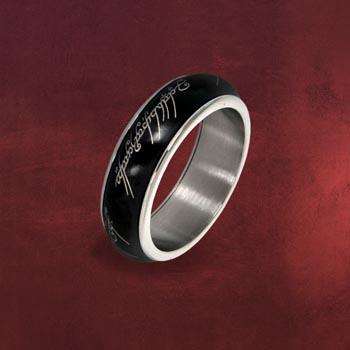 Der Eine Ring - Rotierend, im Schmuckdisplay, schwarz