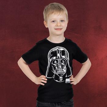 Star Wars - Darth Vader Portrait Kinder T-Shirt
