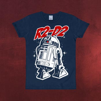 Star Wars - R2-D2 Kinder T-Shirt navy