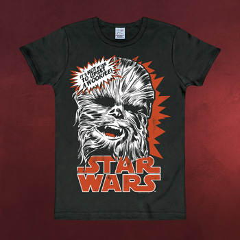 Star Wars - Chewbacca T-Shirt schwarz