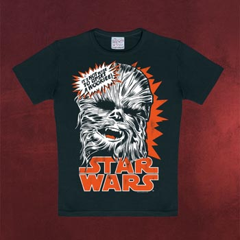 Star Wars - Chewbacca Kinder T-Shirt schwarz