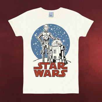 Star Wars - Droiden Kinder T-Shirt wei�
